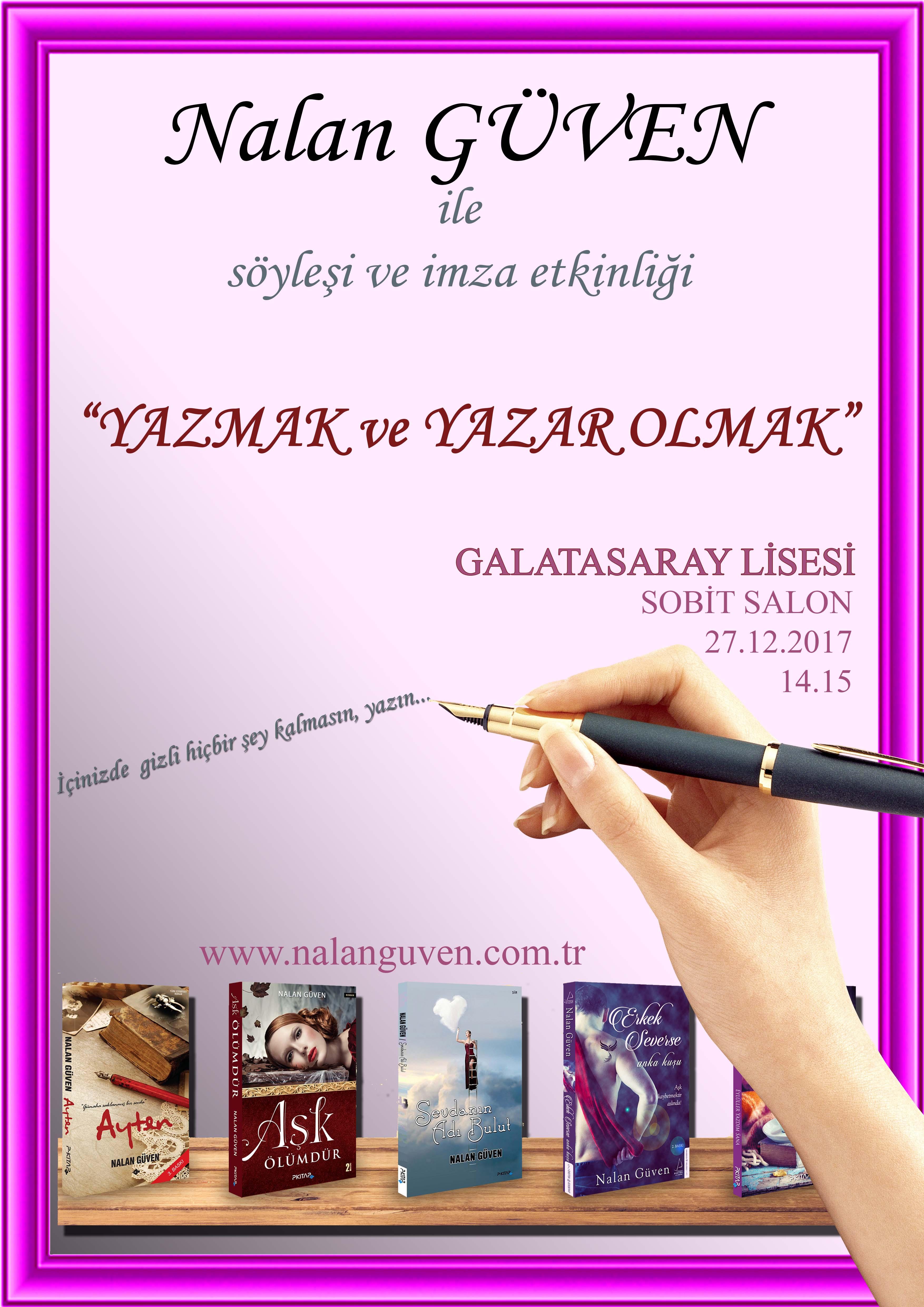 G.S LİSE SÖYLEŞİ