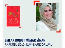 EMLAK KONUT MİMAR SİNAN ANADOLU LİSESİ SÖYLEŞİ VE İMZA / 5 MART 2020